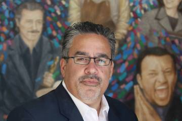 Peter Guzman, president of the Latin Chamber of Commerce. (Ronda Churchill/Las Vegas Business P ...
