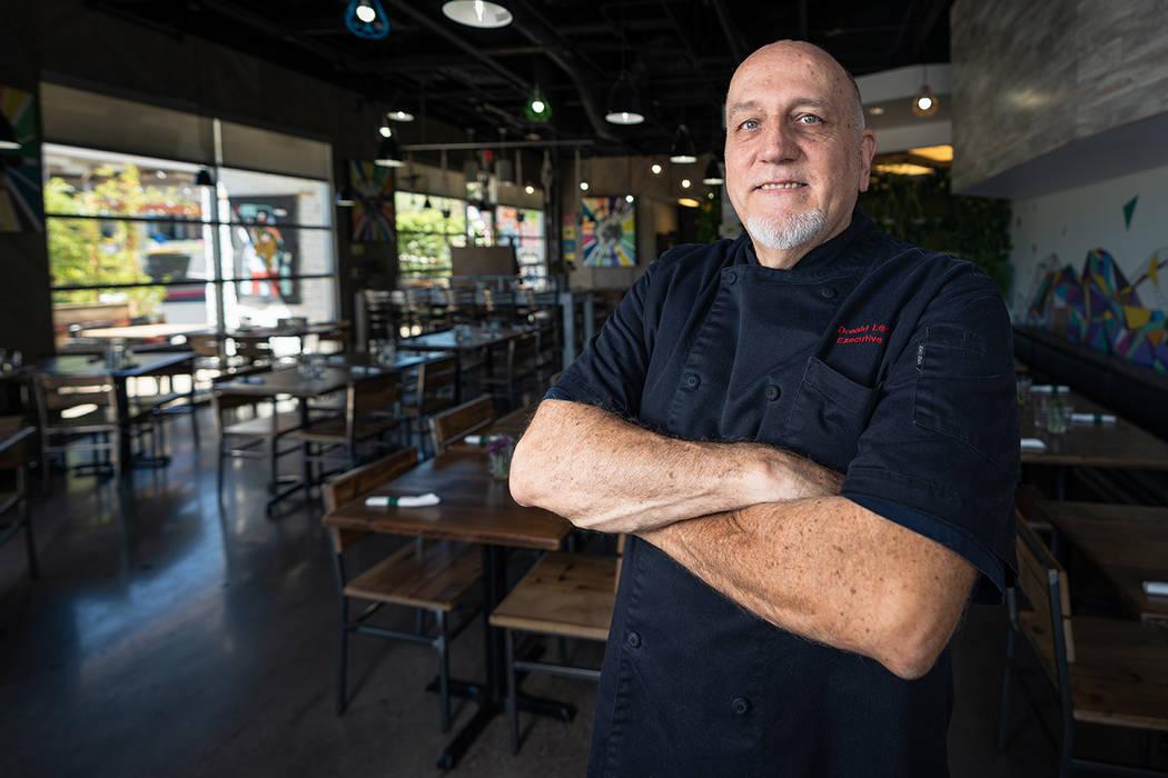 Chef Donald Lemperle opened VegeNation in 2015.