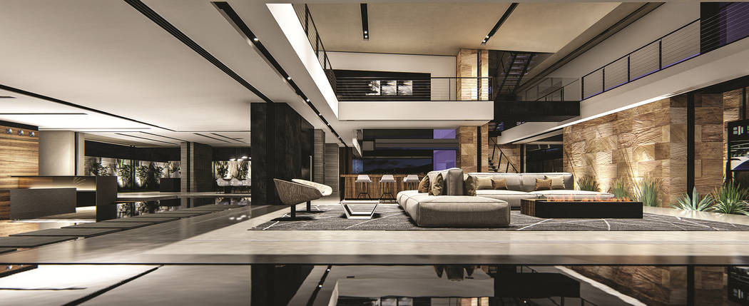 Blue Heron's is building Vegas Modern 001 (VM001). The new 14,100-square-foot, three-level sh ...