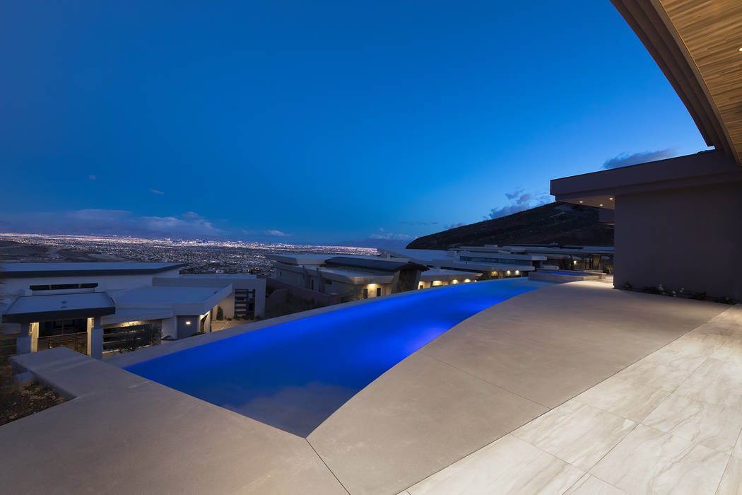 No 9 — 673 Falcon Cliff Court in MacDonald Highlands in Henderson for $3.675 million. (Synerg ...