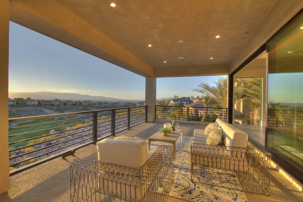 No. 3 — 1353 Dilevante Drive in Seven Hills in Henderson sold for $5.6 million. (Synergy Sot ...