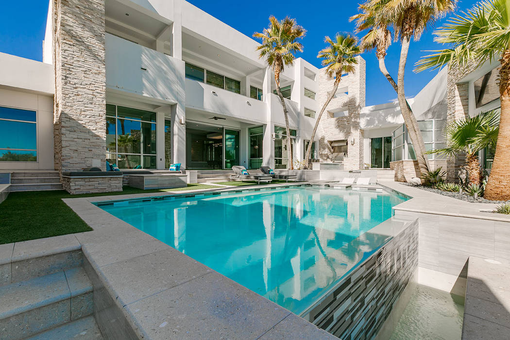 No. 10. -- 2902 Coast Line Court in the Lakes tied for 10th place at $3.5M. (Las Vegas Lifestyl ...