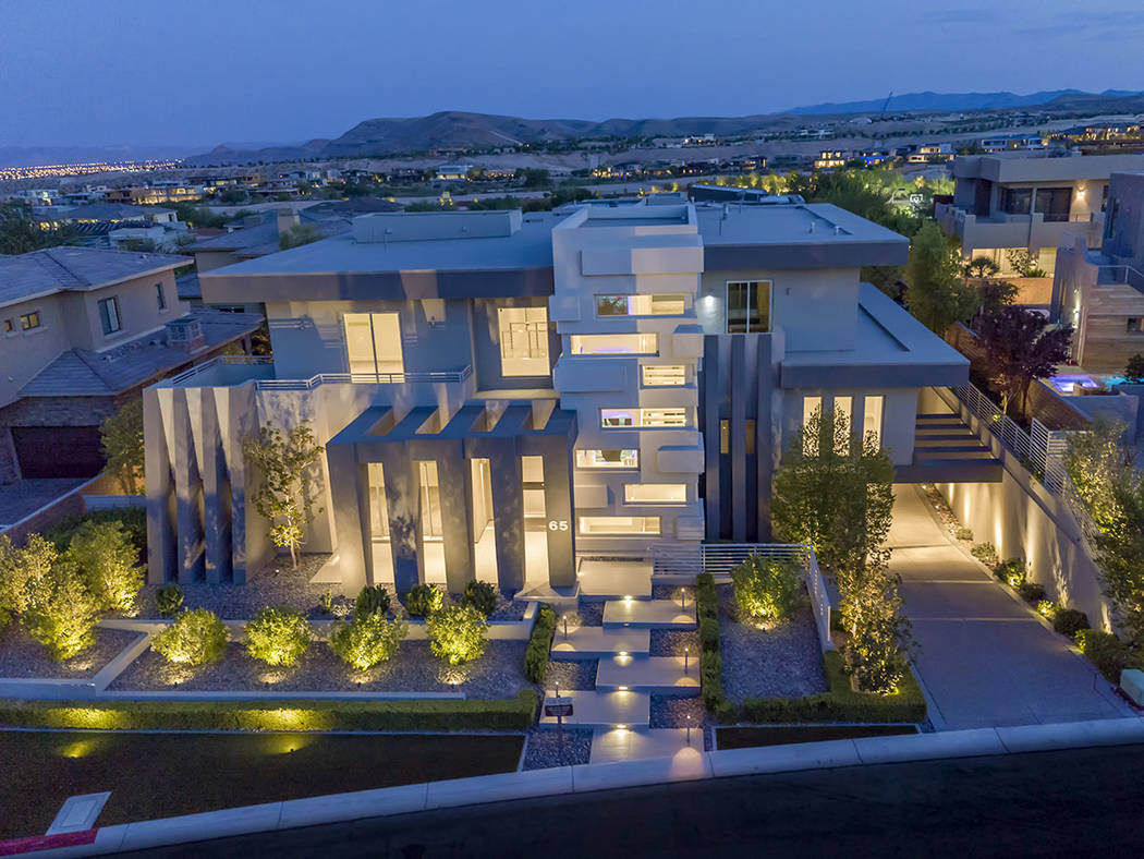 No 7 — 65 Meadowhawk Lane in The Ridges in Summerlin sold for $4 million. (Presenting Vegas)