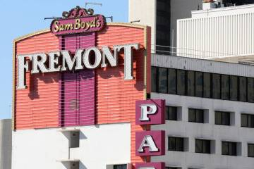 Recent gaming report shows downtown Las Vegas gaming revenue up 5 percent for the year. Boyd Ga ...
