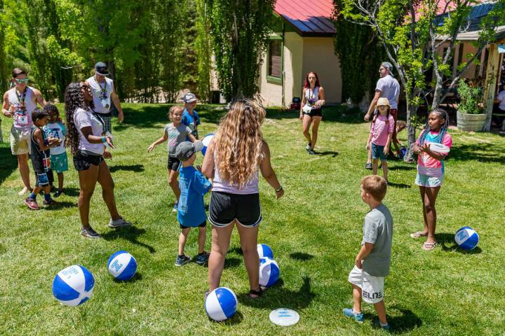 Nevada Childhood Cancer Foundation's Camp Cartwheel Summer Camp helps kids fighting life-thre ...