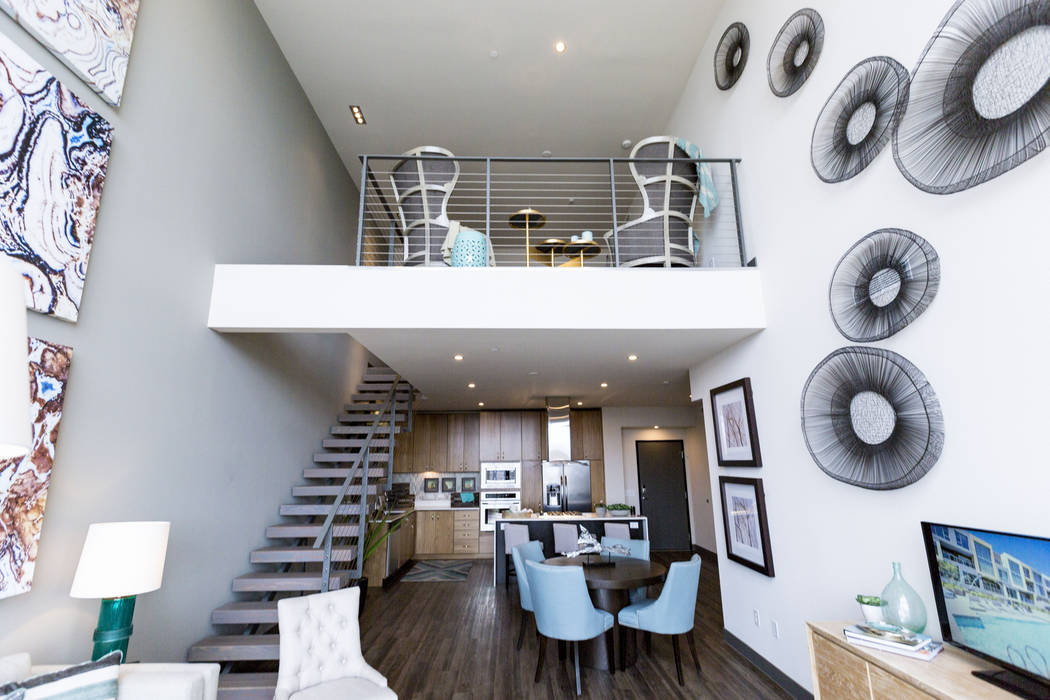 Vantage Lofts luxury apartments offers a variety of floor plans. (Las Vegas Business Press/File ...