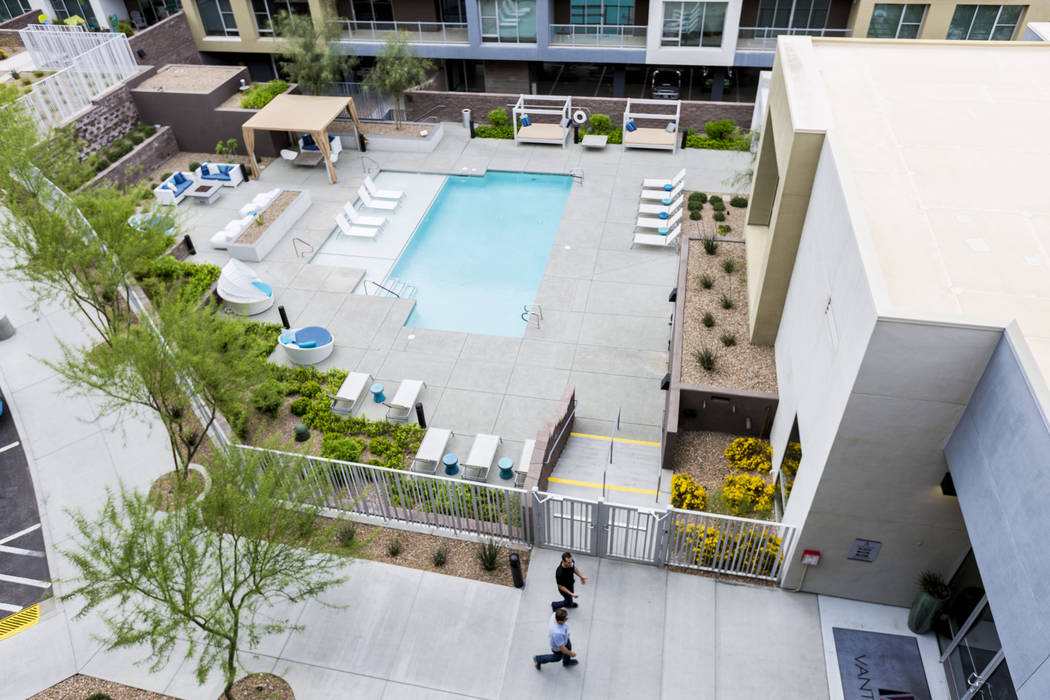 Vantage Lofts luxury apartments are on South Gibson Road and Paseo Verde Parkway in Henderson. ...