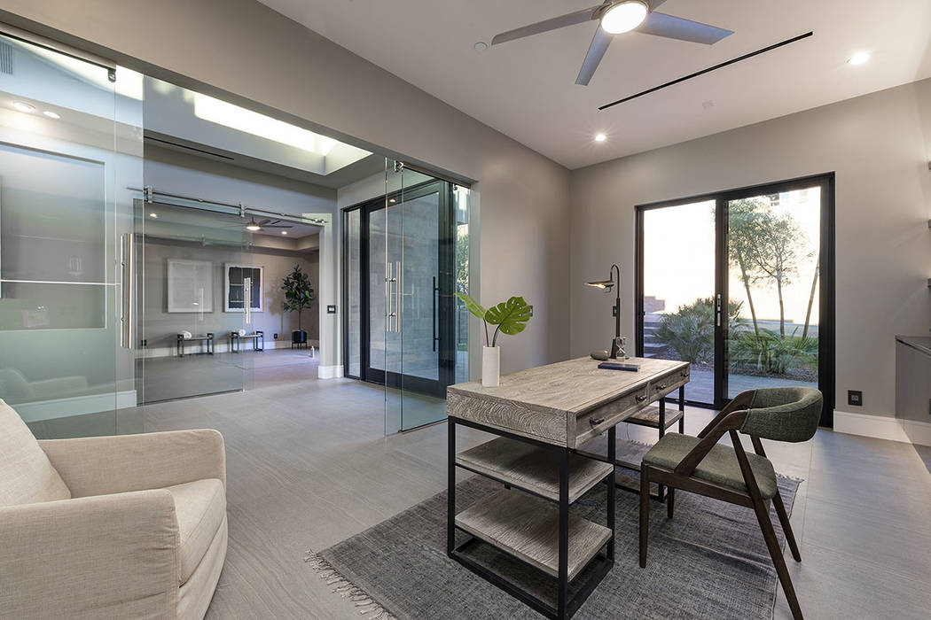 The office. (Synergy|Sotheby's International Realty)