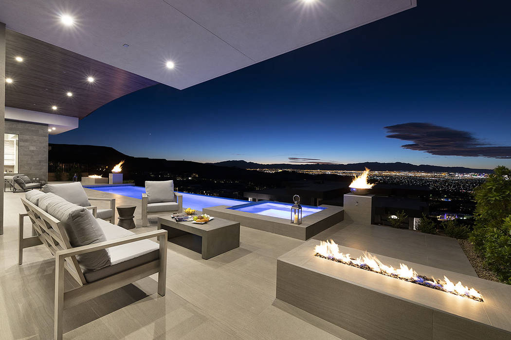 This Richard Luke collection home in MacDonald Highlands has listed for $3.25 million. (Synergy ...