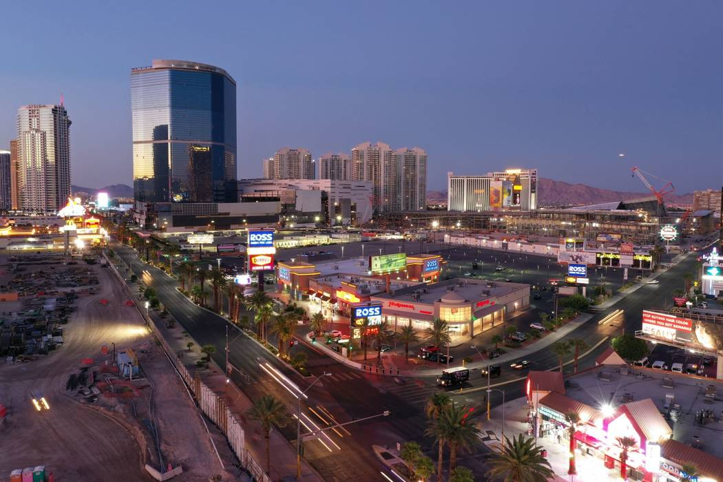 The 41,583-square-foot retail center on the Las Vegas Strip is expected to fetch more than $60 ...