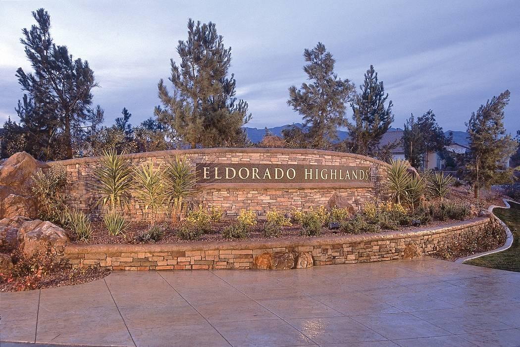 Pardee Homes Eldorado in North Las Vegas began construction 30 years ago.