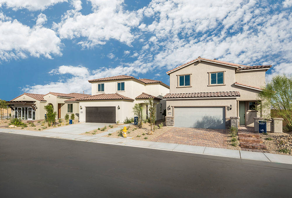 Catalina neighborhood, by Pulte Homes, is in Sedona Ranch in North Las Vegas. (Pulte Homes)
