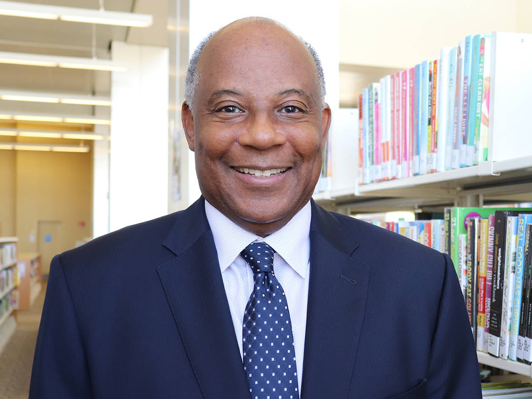 Fred James, Las Vegas-Clark County Library District