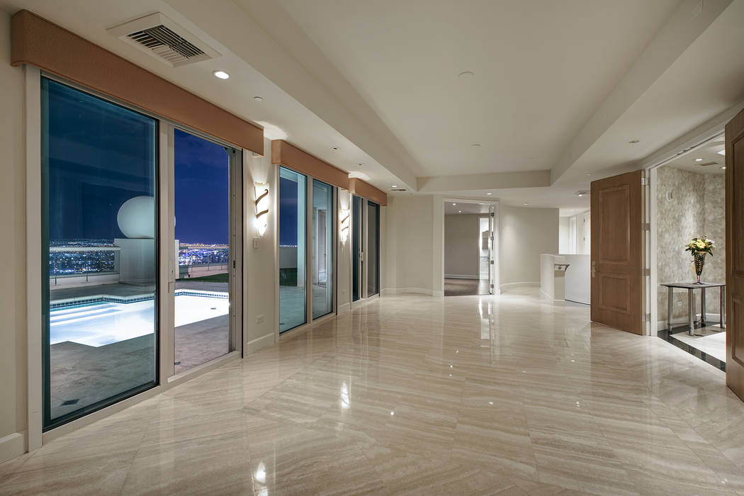 The 6,421-square-foot Turnberry Place has two levels. (Berkshire Hathaway HomeServices)