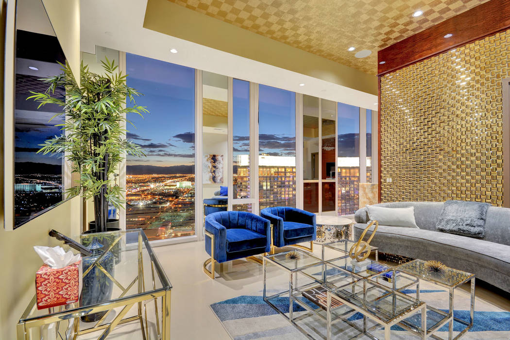 The two-bedroom unit on the 47th floor of the Waldorf Astoria known as the Presidential Penthou ...