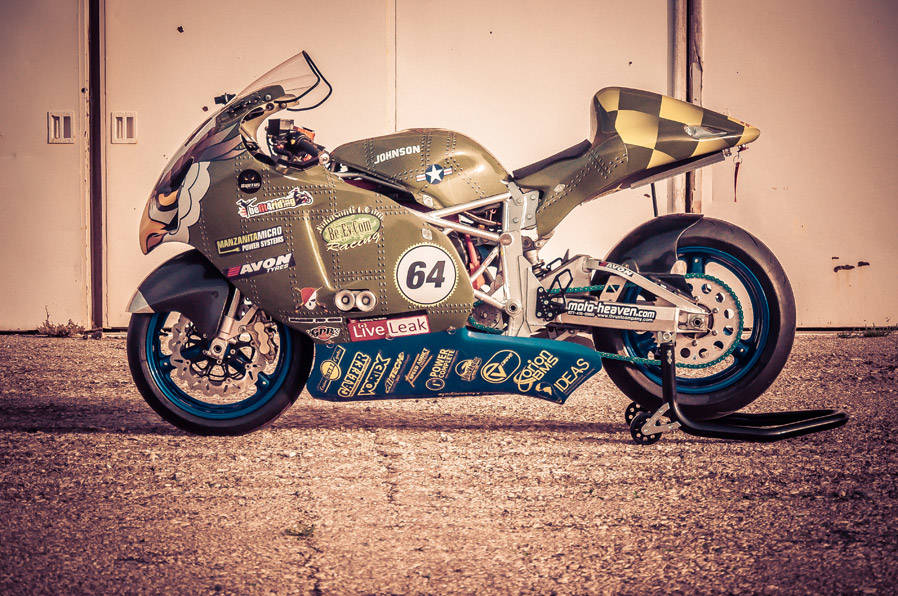 Brutus Electric Motorcycles is a family-owned business that builds customizable electric motorc ...