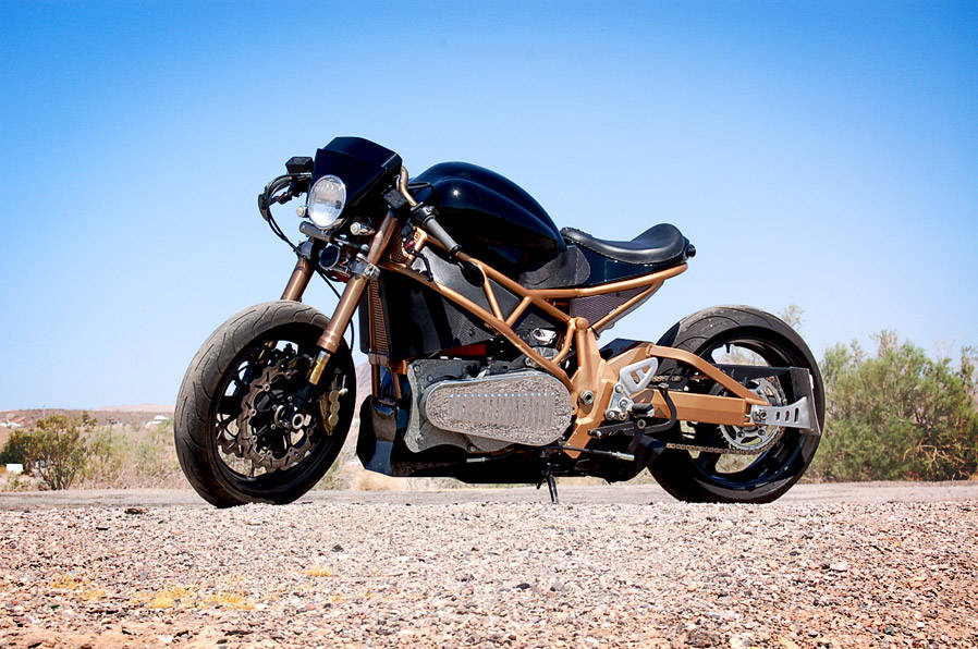 Brutus' least expensive handmade bikes are $85,000 and the most expensive go for $250,000. (B ...