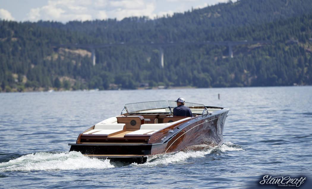 StanCraft Hammerhead will showcase a high-end customizable wooden boat. (StanCraft Hammerhead)