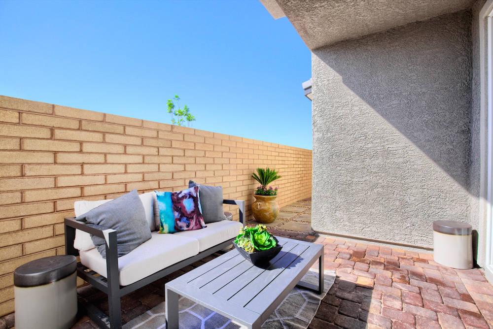 The patio. (Richmond American Homes)