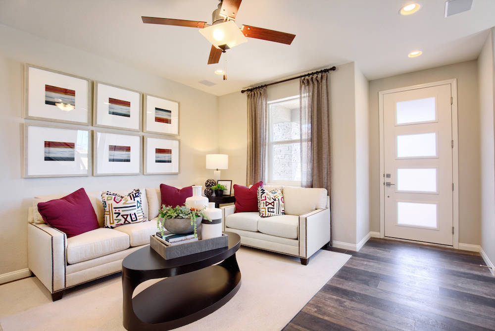 The living room. (Richmond American Homes)