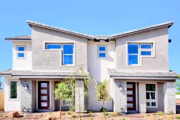 Richmond American Homes launched its first town home development in Cadence in Henderson called ...