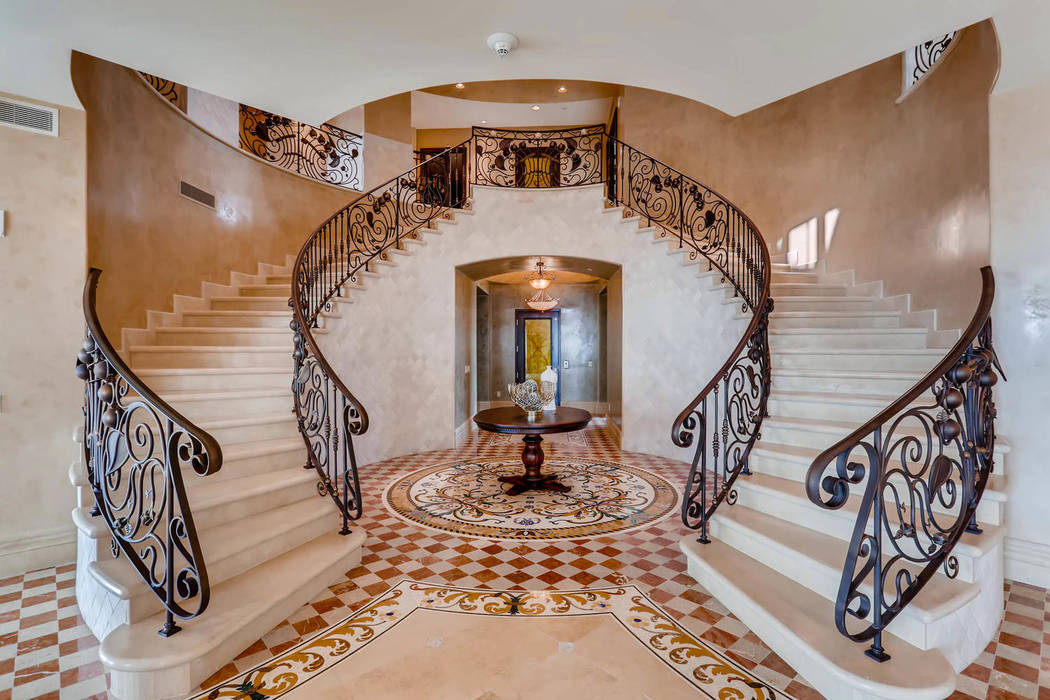 Unit No. 1802 at One Queensridge Place set a record for highest-priced penthouse sold in Las Ve ...