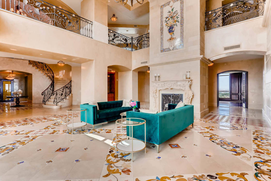 The penthouse measures 14,719 square feet on two floors. (Char Luxury Real Estate)
