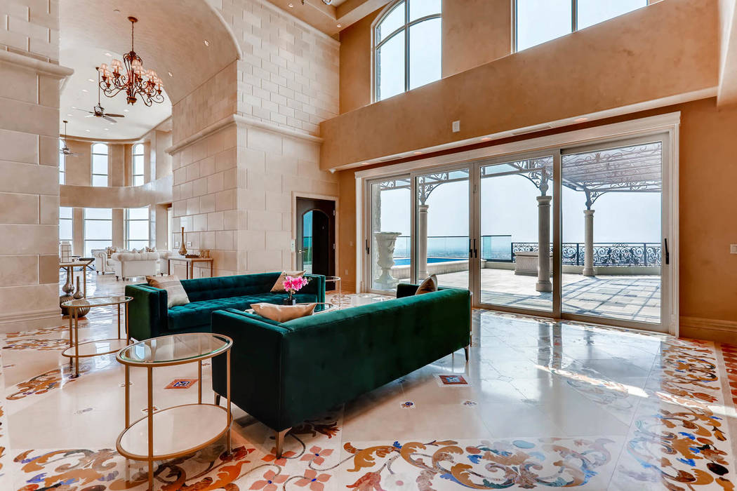 The Crown Penthouse has 2,000 square feet of outdoor deck space. (Char Luxury Real Estate)