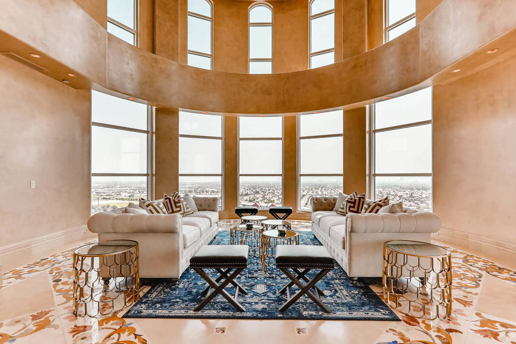 The star of the living room is the view. (Char Luxury Real Estate)