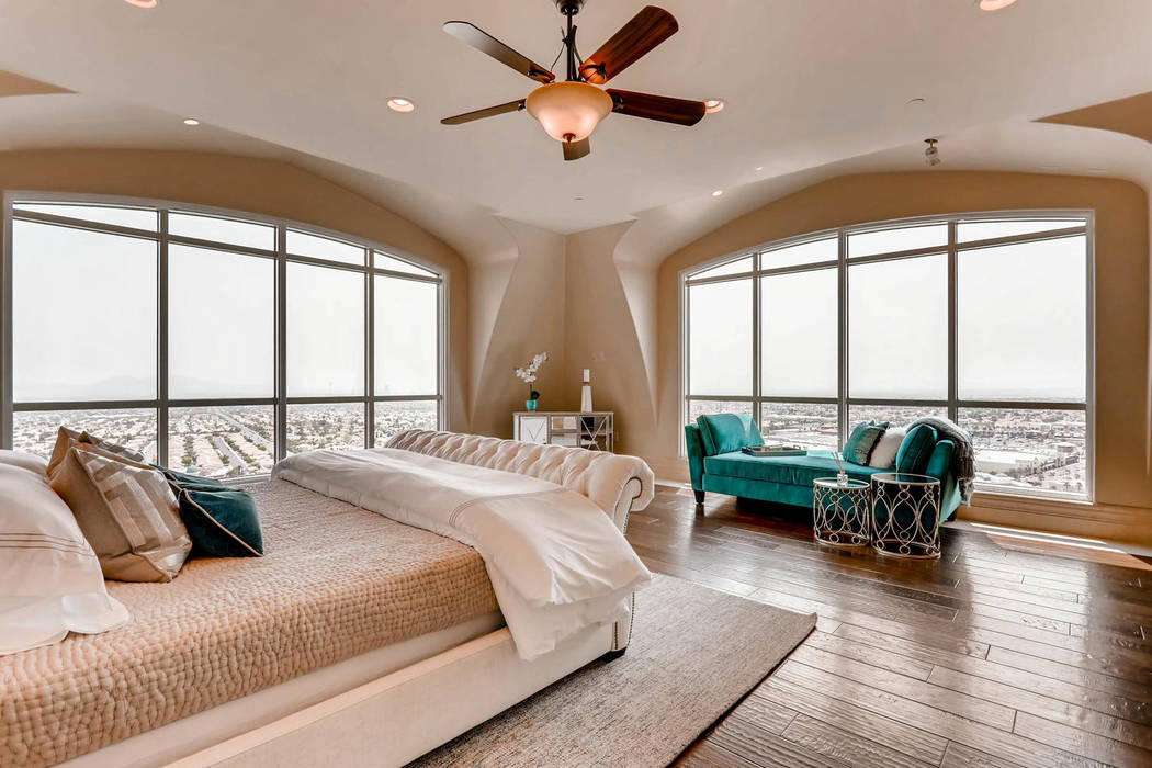 The master bedroom. (Char Luxury Real Estate)