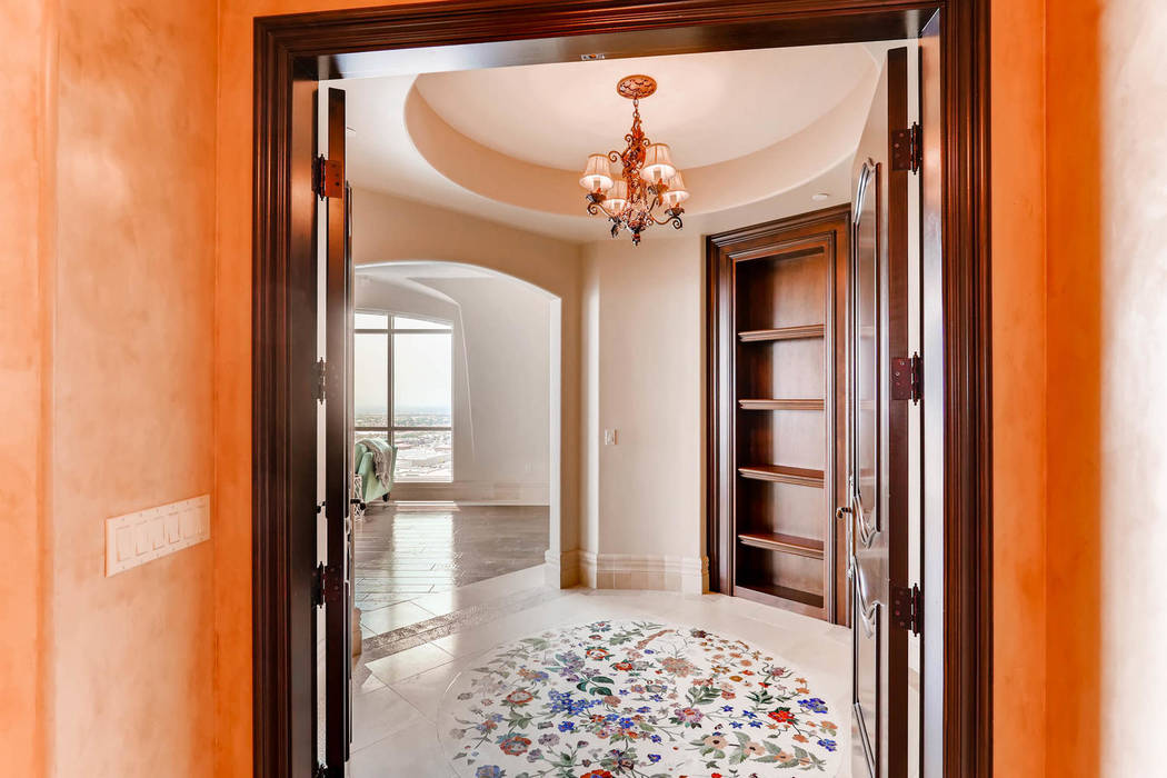 The entrance to the large master suite. (Char Luxury Real Estate)