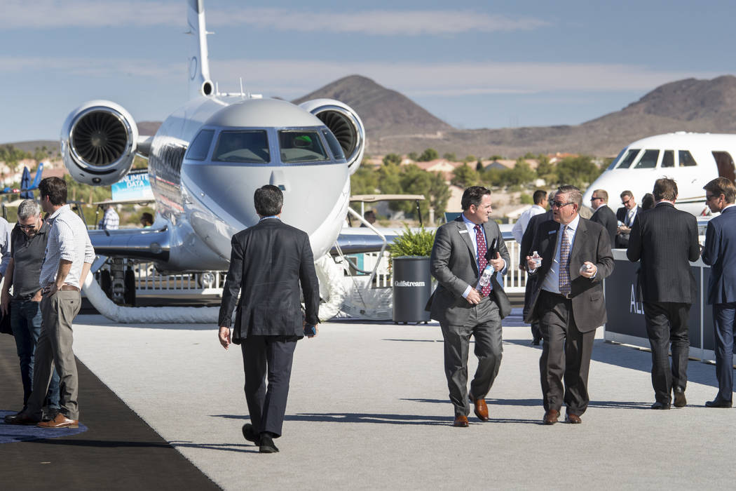 The National Business Aviation Association's Business Aviation Convention & Exhibition will b ...
