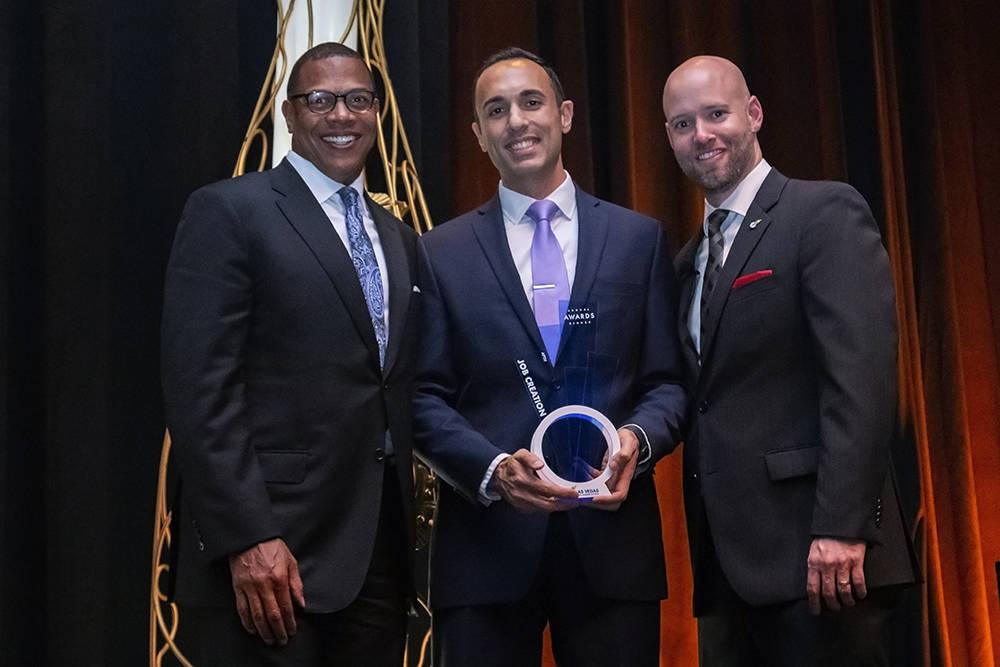 Aptiv earned the Jobs Award. (LVGEA)