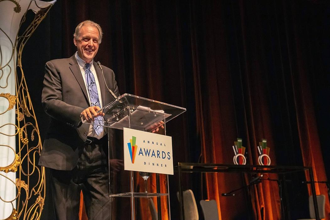 North Las Vegas Mayor John Lee received the Chairman's Award. (LVGEA)