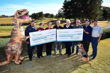 Cox Charities, the fundraising arm of Cox Communications, Las Vegas, donated $50,000 in proceed ...