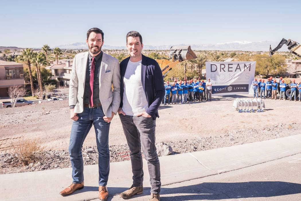 Early this year, Drew and Jonathan Scott broke ground on their first Dream Home by Scott Living ...