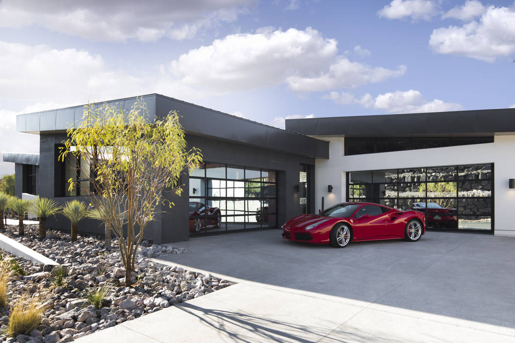 The 2019 New American Home displayed at by the National Association of Home Builders' show in ...