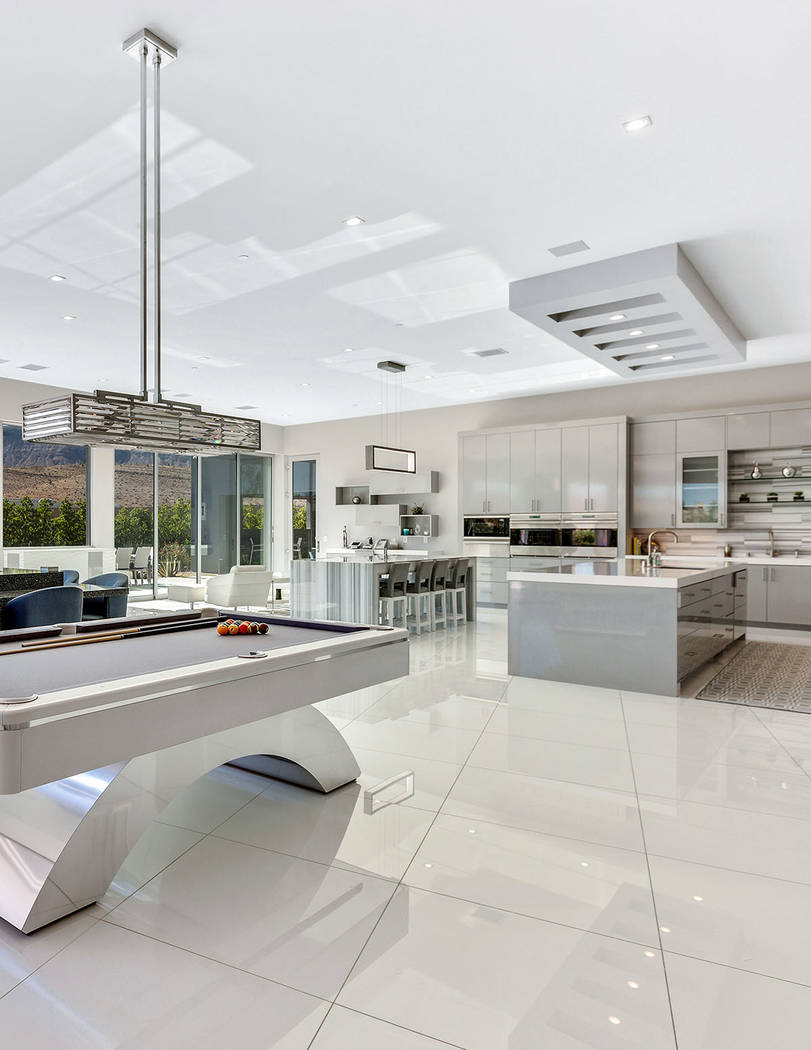 Golden Knights owner Bill Foley's custom home in Summerlin was built for entertaining. (Ivan S ...