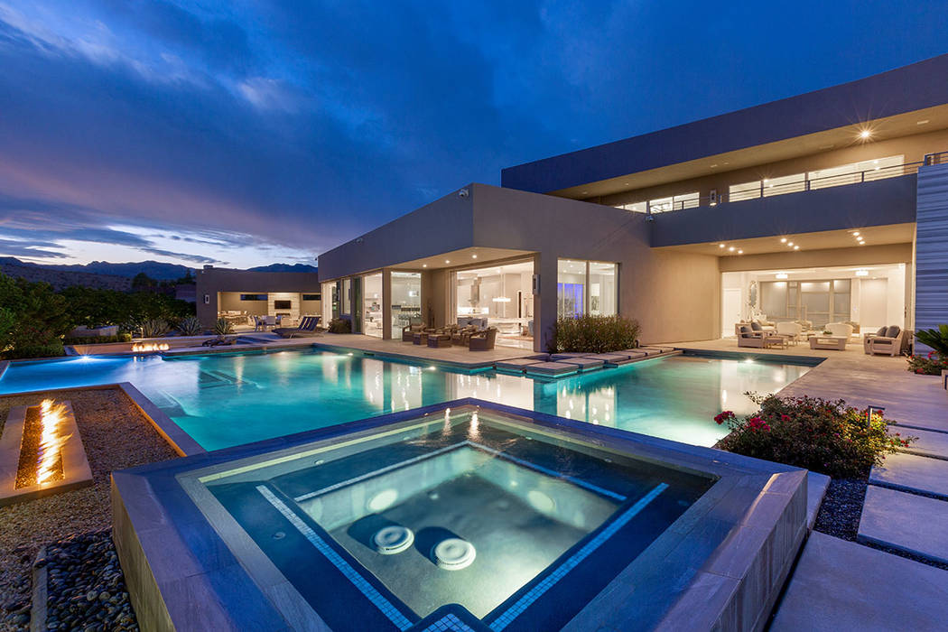 Golden Knights owner Bill Foley's listed his Summerlin home for $8.75 milllion this year. (Ivan ...