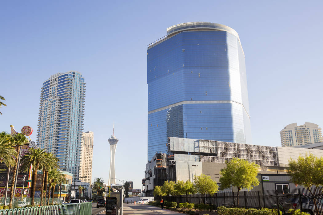 The Drew on the Strip is expected to begin construction again this year and open in 2022. (Eliz ...