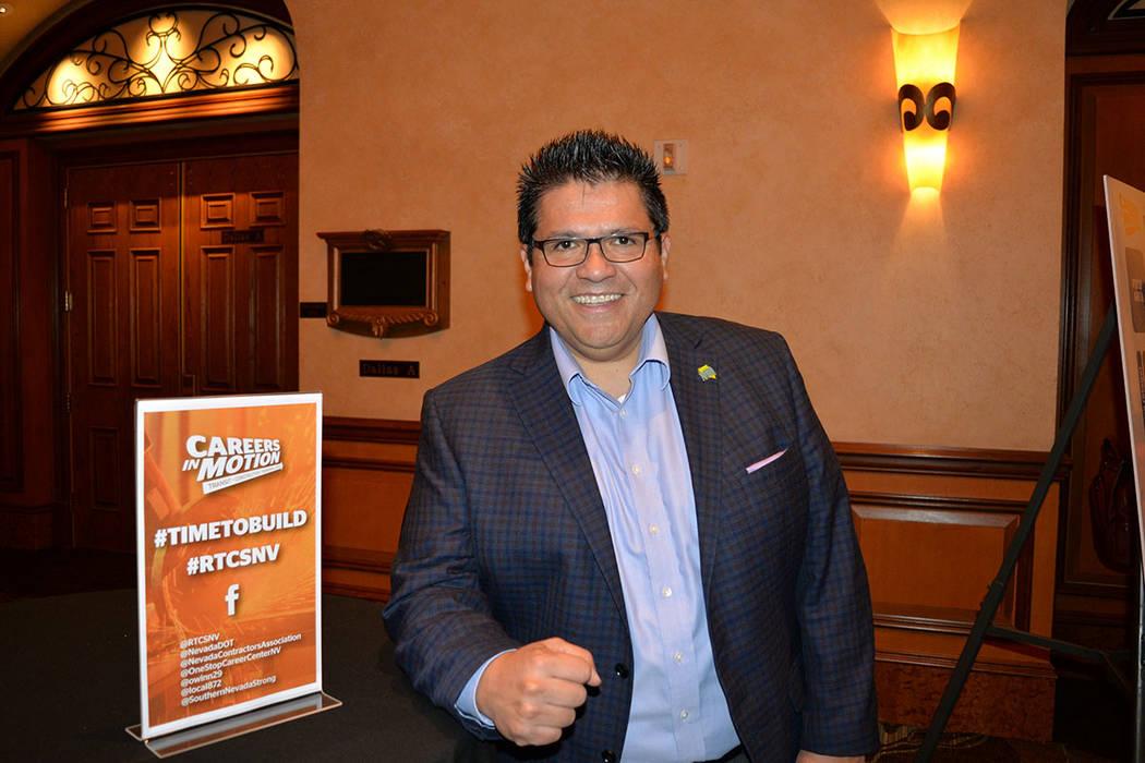 Jaime Cruz, Las Vegas Global Economic Alliance. (Frank Alejandre Las Vegas Review-Journal)