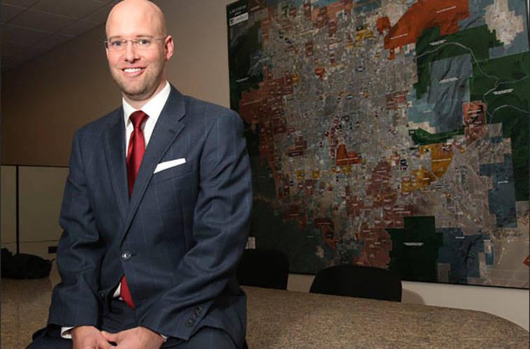 Jonas R. Peterson, Las Vegas Global Economic Alliance. (K.M. Cannon Las Vegas Review-Journal)