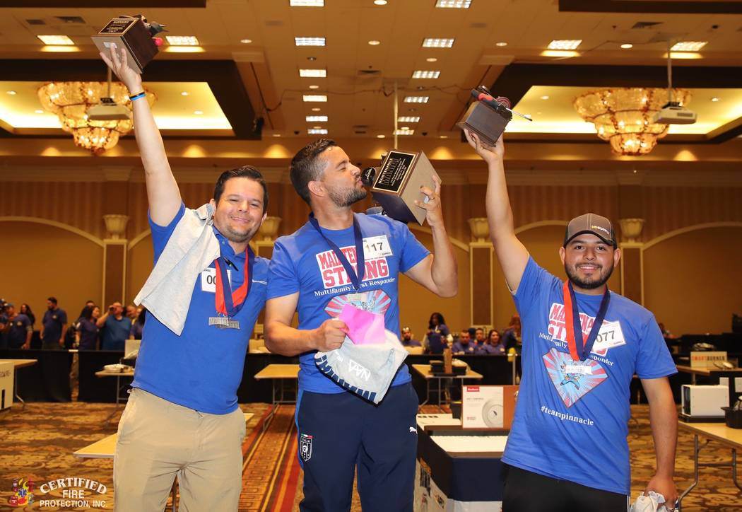This winter, more than 285 maintenance professionals competed in The Nevada State Apartment Ass ...