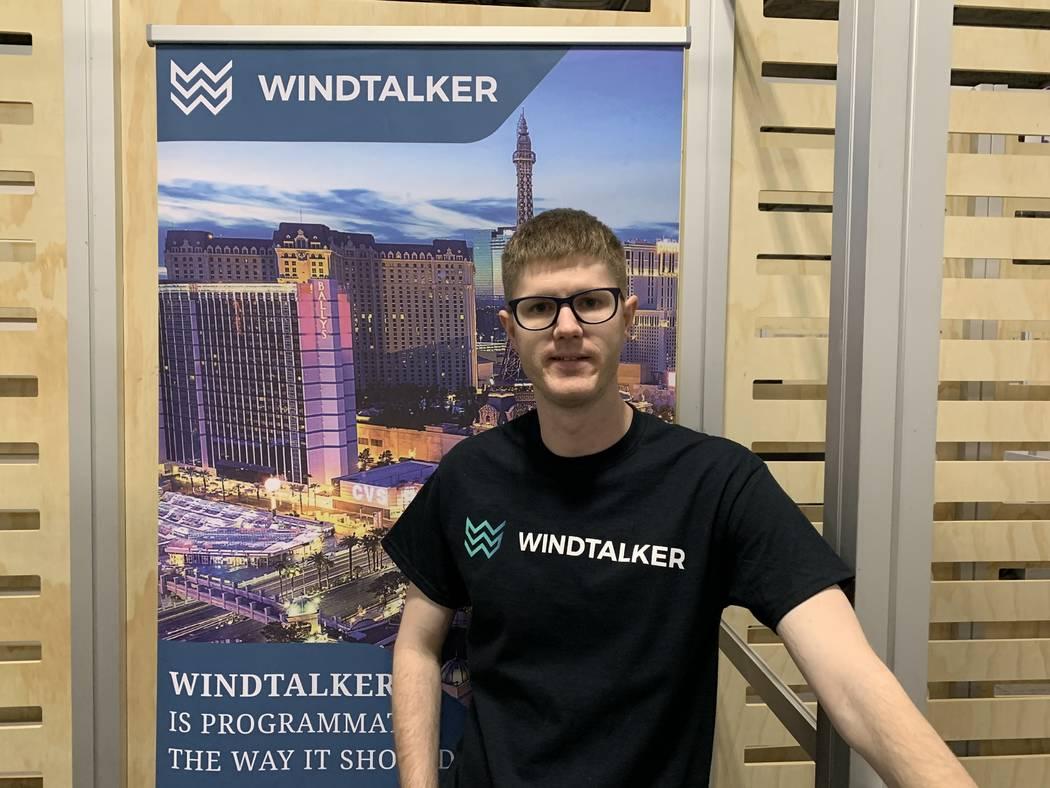 Corbin Bridge founded WindTalker Inc. six months ago. (WindTalker)