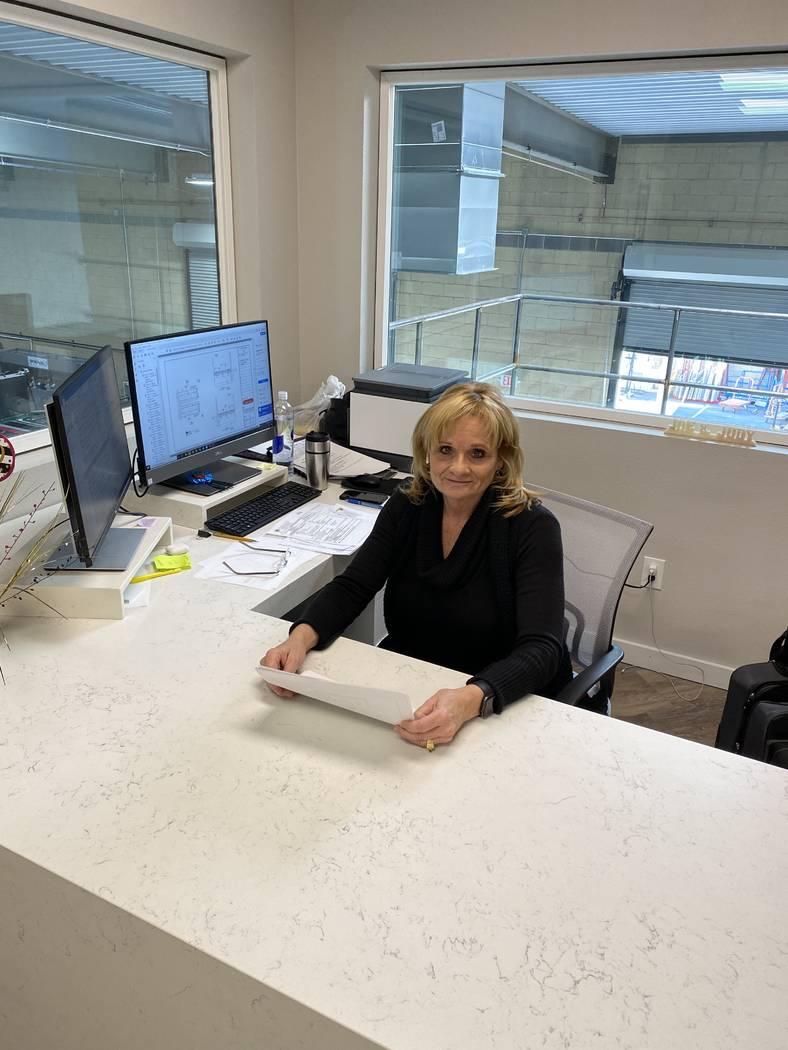 Judy Beckowitz, president and owner of American Countertops & Floors. (TMC Financing)