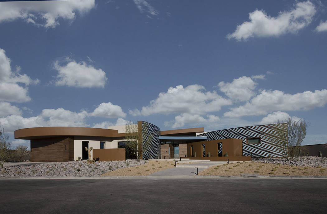 The 2020 New American Home in Ascaya in Henderson is valued at $5.75 million. (Jeffrey A. Davis ...