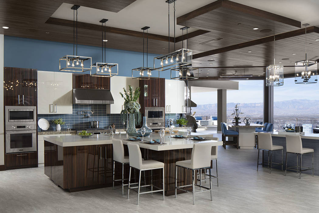 The kitchen is equipped with the latest LG appliances. (Jeffrey A. Davis Photography Inc.)