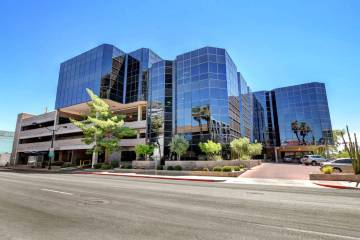 Bonneville Square, a five-story office building in downtown Las Vegas, sold for $14.9 million. ...