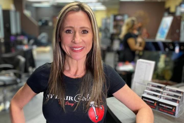 Nicolette Tucker, owner of NY Hair Co.