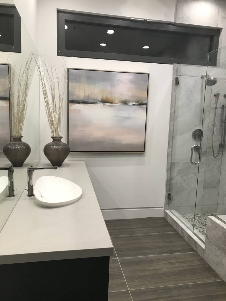 The master bath. (Kimberly Joi McDonald)